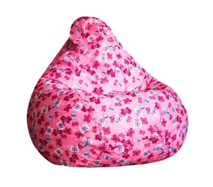 Кресло-мешок DreamBag Кресло-мешок, размер XL, оксфорд, розовый с рисунком