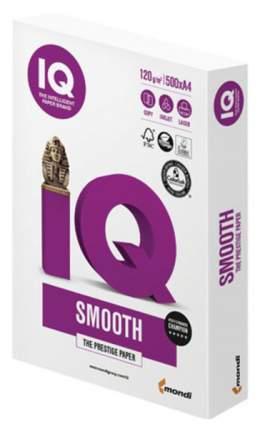 Бумага IQ Selection Smooth, А4, 120 г/м2, 500 л, А+, 169% (CIE)...