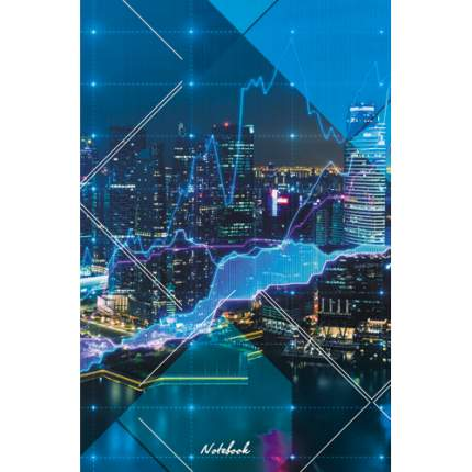 """Книга для записей """"Ночной мегаполис"""" А5, 100л, КЗ51002299"""