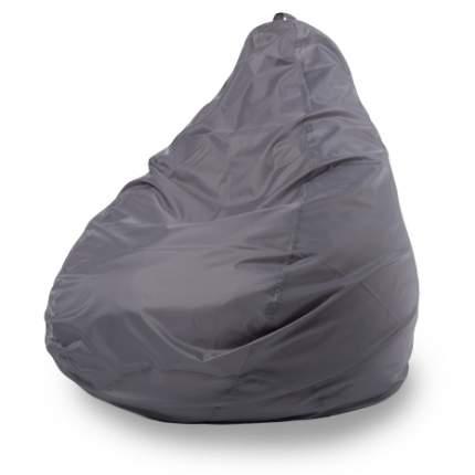 Кресло-мешок ПуффБери Груша Оксфорд XL, серый