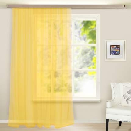 Штора Witerra Ariadne вуаль светло-желтая 300x260 см