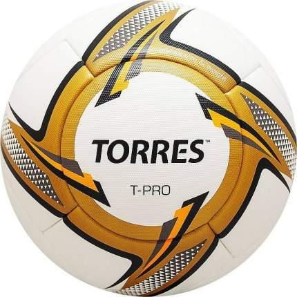 Футбольный мяч Torres T-Pro SS19 №5 white/orange