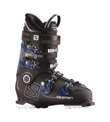 Горнолыжные ботинки Salomon X Pro 90 2019, cruise metablack/blue, 25.5