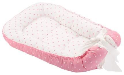 Кокон-гнездо для новорожденных Roxy розовый