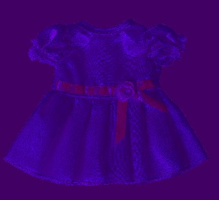 Платье  Лилия  для куклы Колибри 111 сиреневый