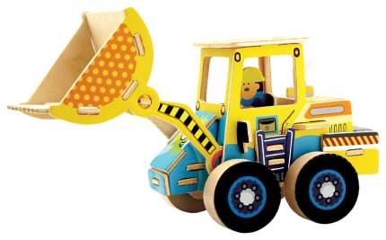 3D Пазлы Rezark Дорожно-строительная техника Грузоподъемник RT-002 18,5 x 7,8 x 11,2 см