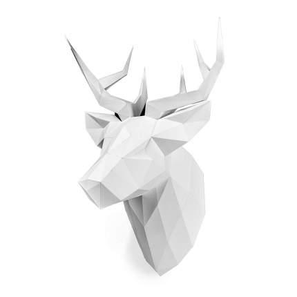 Полигональная фигура PAPERRAZ ОЛЕНЬ ПЕТРОВИЧ (белый)