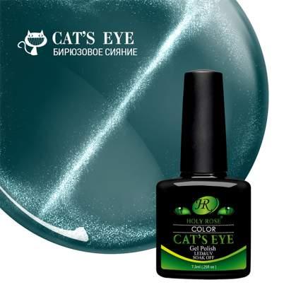 """Гель-лак Holy Rose Cat's Eye """"Бирюзовое сияние"""" №724 7,3мл"""