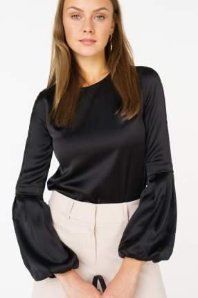Блуза женская Audrey right 170860-11801 черная 46 RU