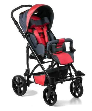 Кресло-коляска Meyra Junior для детей ДЦП красный-серый пневматические