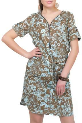 Платье женское Argent ALDS8042 коричневое 46 RU