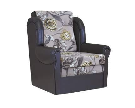 Кресло кровать Классика М велюр цветы