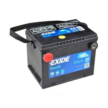 Аккумуляторная Батарея Excell [12v 60ah 640a B9] EXIDE