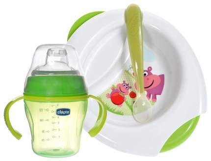 Набор детской посуды Chicco 3 предмета 6 мес+ Розовый 00016200100000