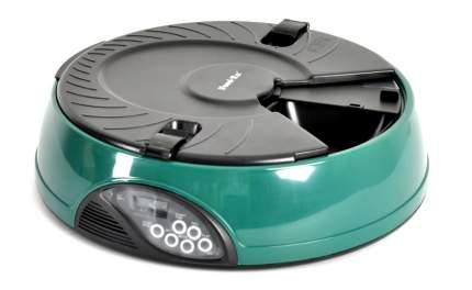 Автокормушка для кошек и собак Feed-Ex, жк дисплей, с таймером, зеленая 1.8 л