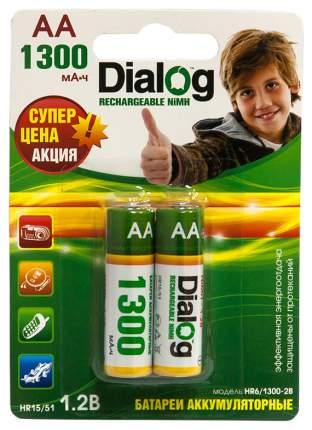 Аккумуляторная батарея Dialog HR6/1300-2B 2 шт