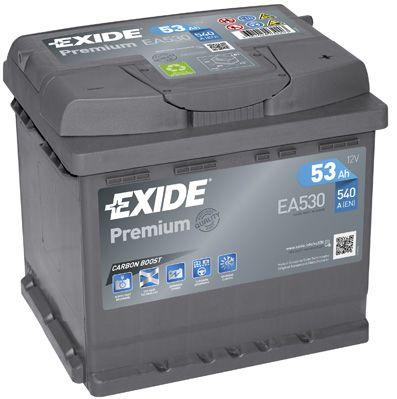 Аккумулятор автомобильный EXIDE EA530 53 Ач