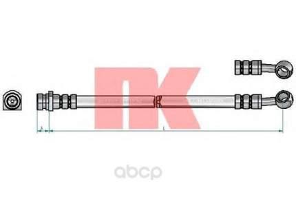 Шланг тормозной системы Nk 853494 задний правый