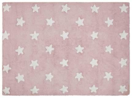 Ковер Lorena Canals Звезды Stars розовый с белым 120*160