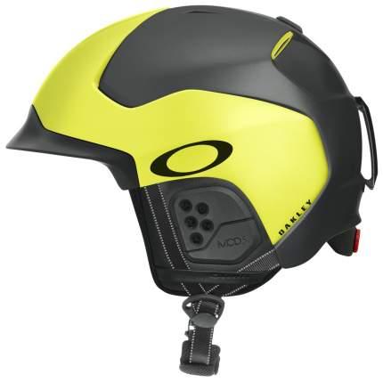 Горнолыжный шлем мужской Oakley Mod 5 2019, желтый, L
