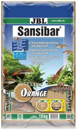 Грунт для аквариума JBL Sansibar Orange 10 кг 6706500