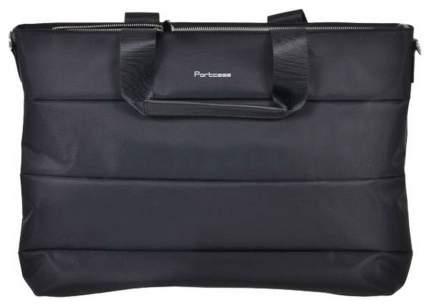 """Сумка для ноутбука 15.6"""" PortCase KCB-70 черная"""