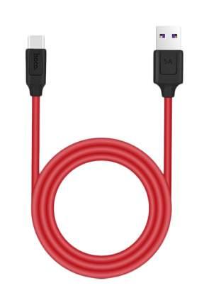 Кабель Hoco X11 Rapid USB type-c цвет Red/Black