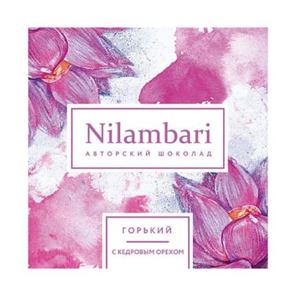 Шоколад горький Nilambari с кедровым орехом 65 г