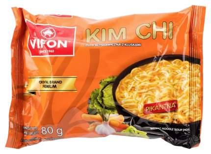 Суп-лапша Vifon быстрого приготовления пшеничная kim chi premium 80 г
