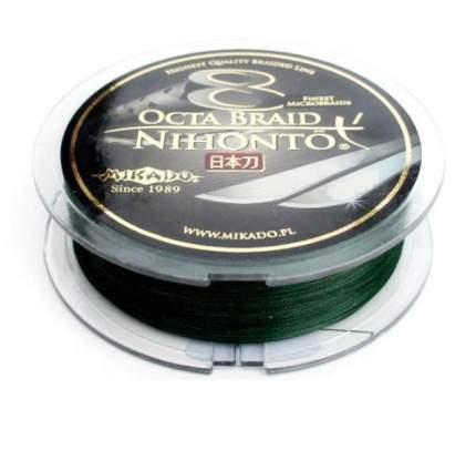 Леска плетеная Mikado Nihonto Octa 150 м зеленая 0,23 мм