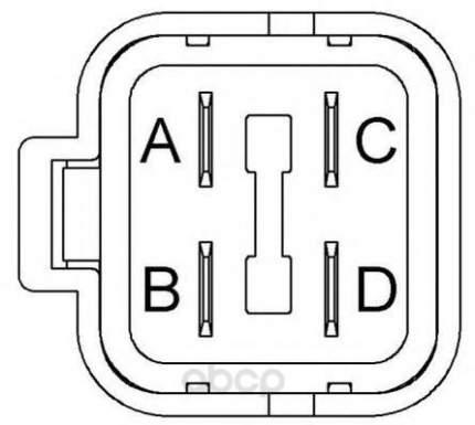 Катушка зажигания honda accord 95-97 Beru ZS417