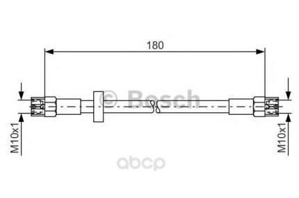 Шланг тормозной Bosch 1987476216