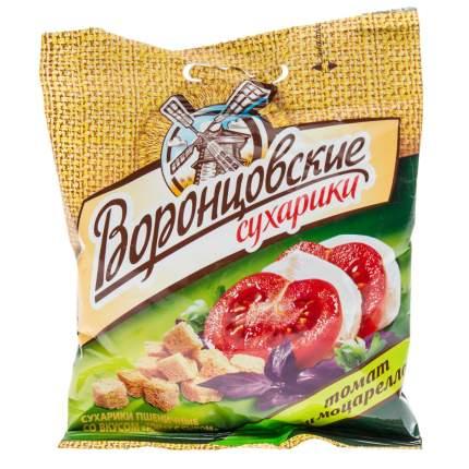 Сухарики Воронцовские томат и моцарелла 40 г