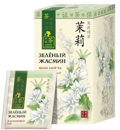 Чай Зеленая Панда зеленый жасмин 25 пакетиков