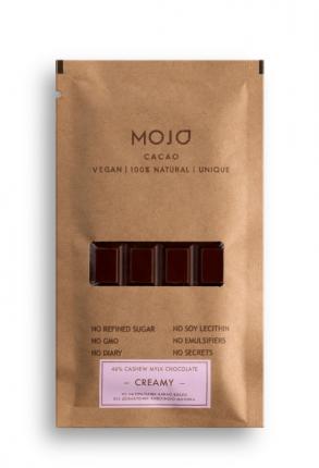 Молочный шоколад 46% Mojo Cacao Эквадор creamy
