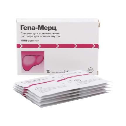 Гепа-Мерц гранулы 3 г 10 шт.