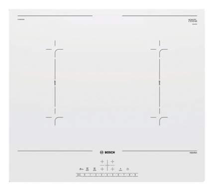 Встраиваемая варочная панель индукционная Bosch PVQ612FC5E White