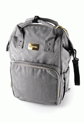Рюкзак для мамы Farfello F1 серый арт.F1/2