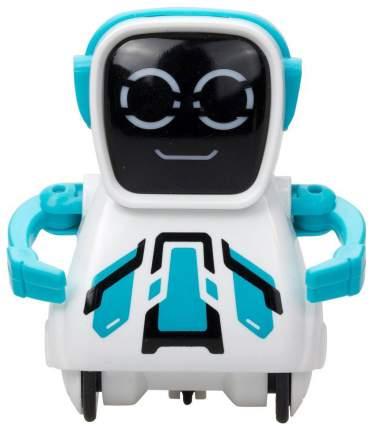 Интерактивный робот Silverlit Покибот белый с синим