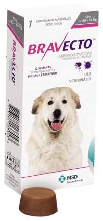Жевательная таблетка для щенков и взрослых собак  40-56 кг Intervet MSD Бравекто