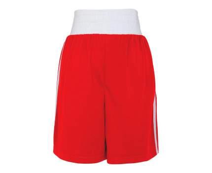 Шорты боксерские Adidas Boxing Short Punch Line красные 2XS