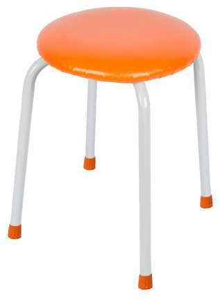 Табурет ЗМИ Пенек крепкий круглый до 120 кг Оранжевый