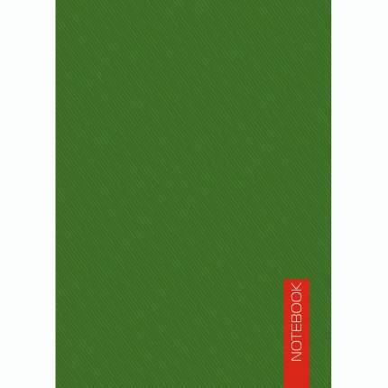 """Блокнот """"Зеленый"""" (А6, 40л, склейка)"""
