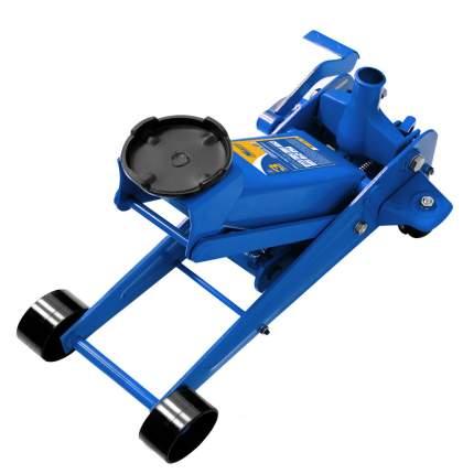Домкрат подкатной гидравлический  3 т, с педалью (min 135mm-max 500mm)