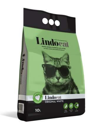 Наполнитель для кошачьего туалета LINDOCAT Original White комкующийся, без запаха, 10 л