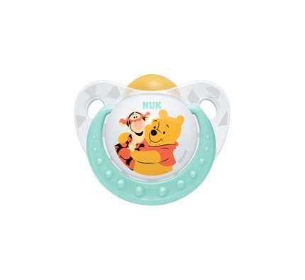 Силиконовая пустышка NUK Trendline Disney Winnie the Pooh р. 2 в ассортименте