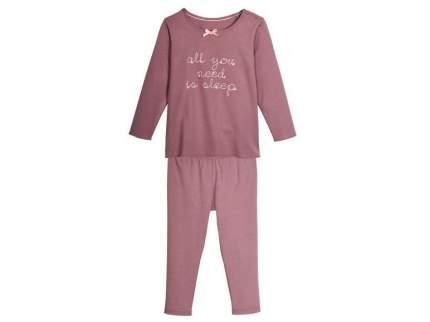 Пижама для девочки Pepperts р.98-104 розовый