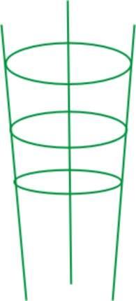 Подставка для цветов красная 90 см FS 4-90