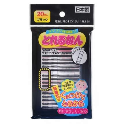 Палочки ушные Energy japan черные, 20 шт