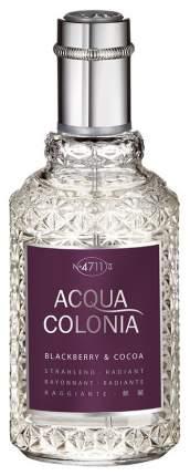 Одеколон 4711 Acqua Colonia Blackberry & Cocoa 50 мл